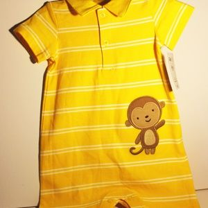 Carter's | Child Of Mine | Yellow Baby One Piece